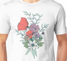 Botanical pattern 005 Unisex T-Shirt