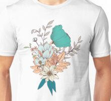 Botanical pattern 003 Unisex T-Shirt