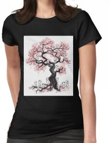 Misty Tree Womens Fitted T-Shirt
