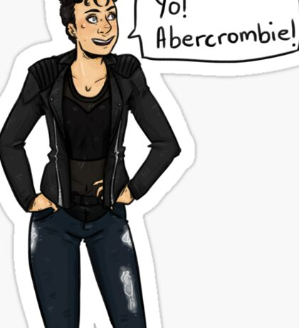 Yo! Abercrombie! Sticker