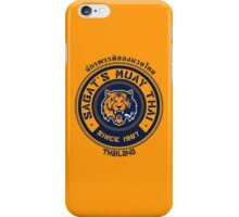 Sagat's Muay Thai 2 iPhone Case/Skin