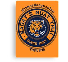 Sagat's Muay Thai 2 Canvas Print