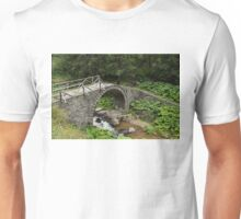 Deteriorating Slowly - The Elegant Arch of an Ancient Stone Bridge Unisex T-Shirt