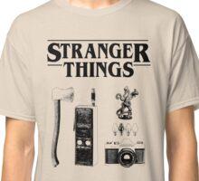 Stranger Things Stylised Objects Demogorgon Radio Classic T-Shirt