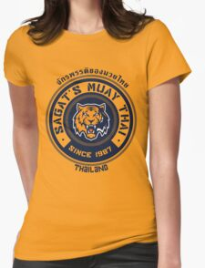 Sagat's Muay Thai 2 Womens Fitted T-Shirt