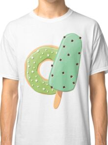 Ice cream and donuts 001 Classic T-Shirt