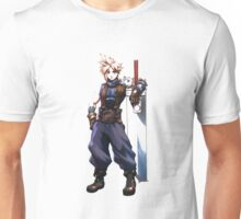 Cloudy Cloud - Final Fantasy - Super Smash Bros Unisex T-Shirt