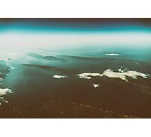 Earth Islands And Mediterranean Sea At 10.000m Altitude Photographic Print