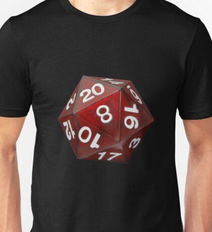 Dado 20 Unisex T-Shirt