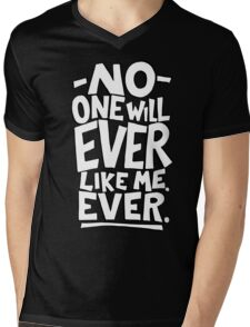 Ugly Thought No 3 Mens V-Neck T-Shirt