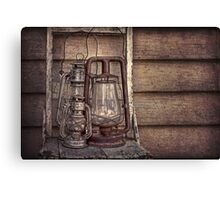 hurricane lamps  Canvas Print