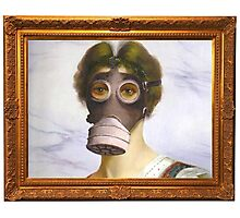 Banksy - Gas Mask Photographic Print