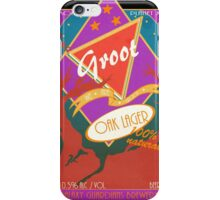 Groot Beer Oak Lager iPhone Case/Skin
