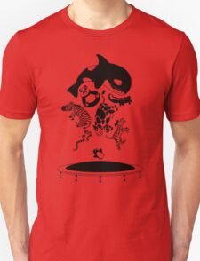 Bouncing Animals Unisex T-Shirt