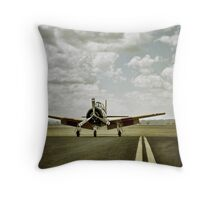 wasted days... Throw Pillow