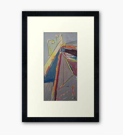 westgate station Framed Print