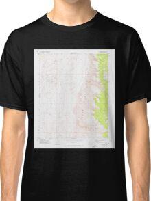 USGS TOPO Map Arizona AZ Olaf Knolls 312696 1971 24000 Classic T-Shirt