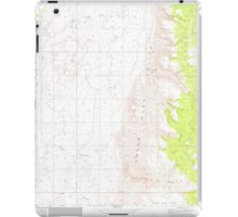 USGS TOPO Map Arizona AZ Olaf Knolls 312696 1971 24000 iPad Case/Skin