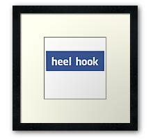 Heel hook facebook Framed Print