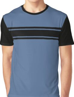 Retro Inspired Stripes Uni Snorkel Blue Fall 2016 Graphic T-Shirt