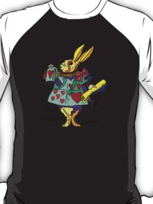 Ask Alice - The White Rabbit 2 - Alices Adventures in Wonderland T-Shirt