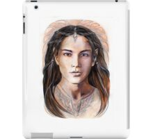 Young elven prince iPad Case/Skin