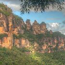The Three Sisters ... with leaves by Michael Matthews