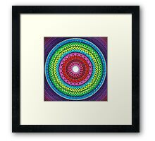 Mandala of Inner Peace Framed Print