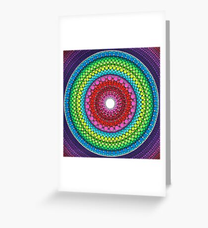 Mandala of Inner Peace Greeting Card