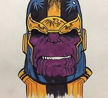 thanos the first by Slakin