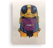 thanos the first Metal Print