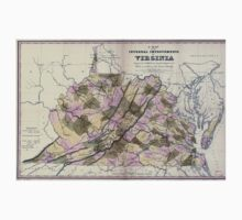 0176 Railroad Maps A map of the internal improvements of Virginia prepared by C Crozet late principal engineer of Va under a resolution of the General Assembly adopted March One Piece - Long Sleeve