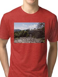 Of Slate Roofs and Gnarled Apple Trees Tri-blend T-Shirt