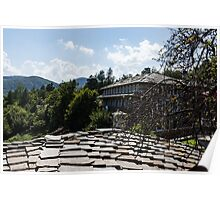 Of Slate Roofs and Gnarled Apple Trees Poster