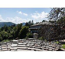 Of Slate Roofs and Gnarled Apple Trees Photographic Print