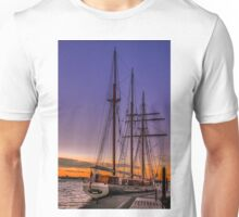 Tall Ship Mystic Unisex T-Shirt