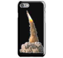 Space Shuttle, Discovery, Blast off, Lift off, Hubble iPhone Case/Skin
