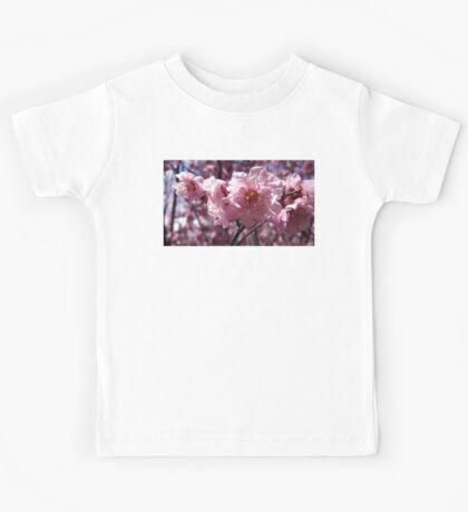 Beautiful blooming cherry blossoms. Kids Tee