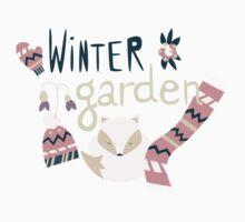Winter garden pattern 004 One Piece - Short Sleeve