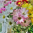 Flowers by the window by henuly1