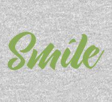 SMILE (in green) Kids Tee
