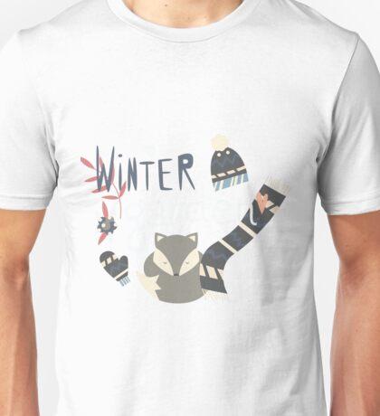 Winter garden pattern 002 Unisex T-Shirt