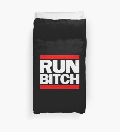 run bitch Duvet Cover