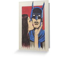 batsuprise  Greeting Card