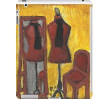 Red Mannequin Reflected iPad Case/Skin