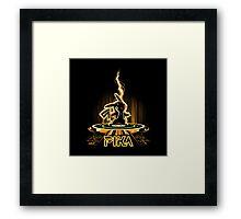 pika Tron Legacy Framed Print