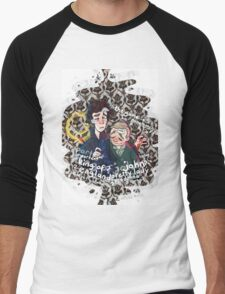 Sherlock - The Stag Night Men's Baseball ¾ T-Shirt