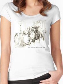 Turn Down Mr. Toad Women's Fitted Scoop T-Shirt