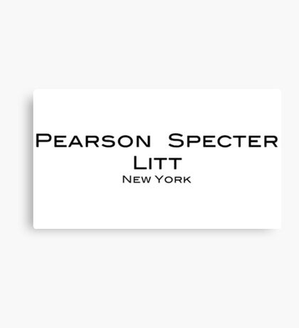 Pearson Specter Litt - Suits Canvas Print