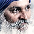 Portrait of a Sikh by Dr. Harmeet Singh